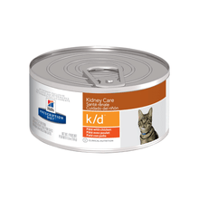 Hills Prescription Diet - Wet Cat Food - Kidney Care with Chicken k/d feline