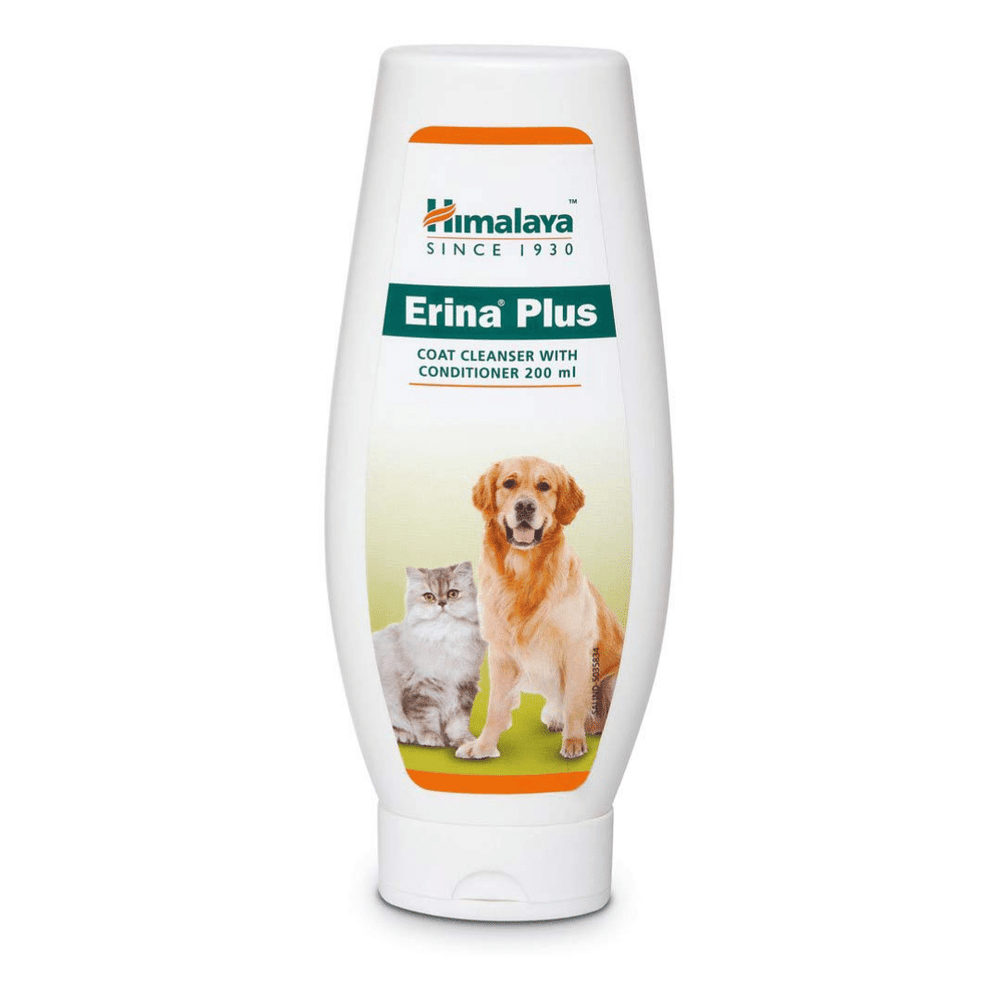 Himalaya Erina Plus Coat Cleanser with Conditioner - 200ml
