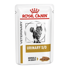 Royal Canin Vet Diet - Wet Cat Food - Urinary S/O Chicken (Pack of 12 pouches x 100g)