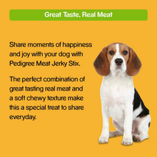 Pedigree Meat Jerky Dog Treats - Bacon - 60g