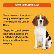 Pedigree Meat Jerky Dog Treats - Smoked Salmon - 80g