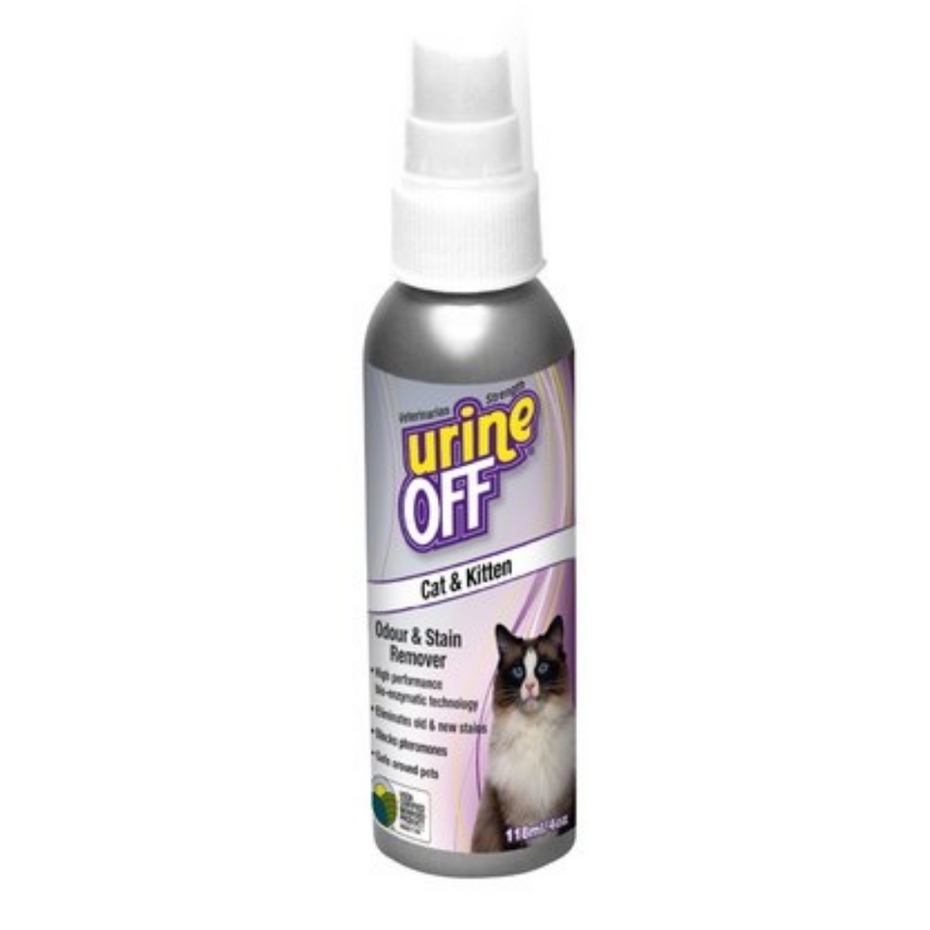 Urine OFF - Cat Odour & Stain Remover - 118 ml