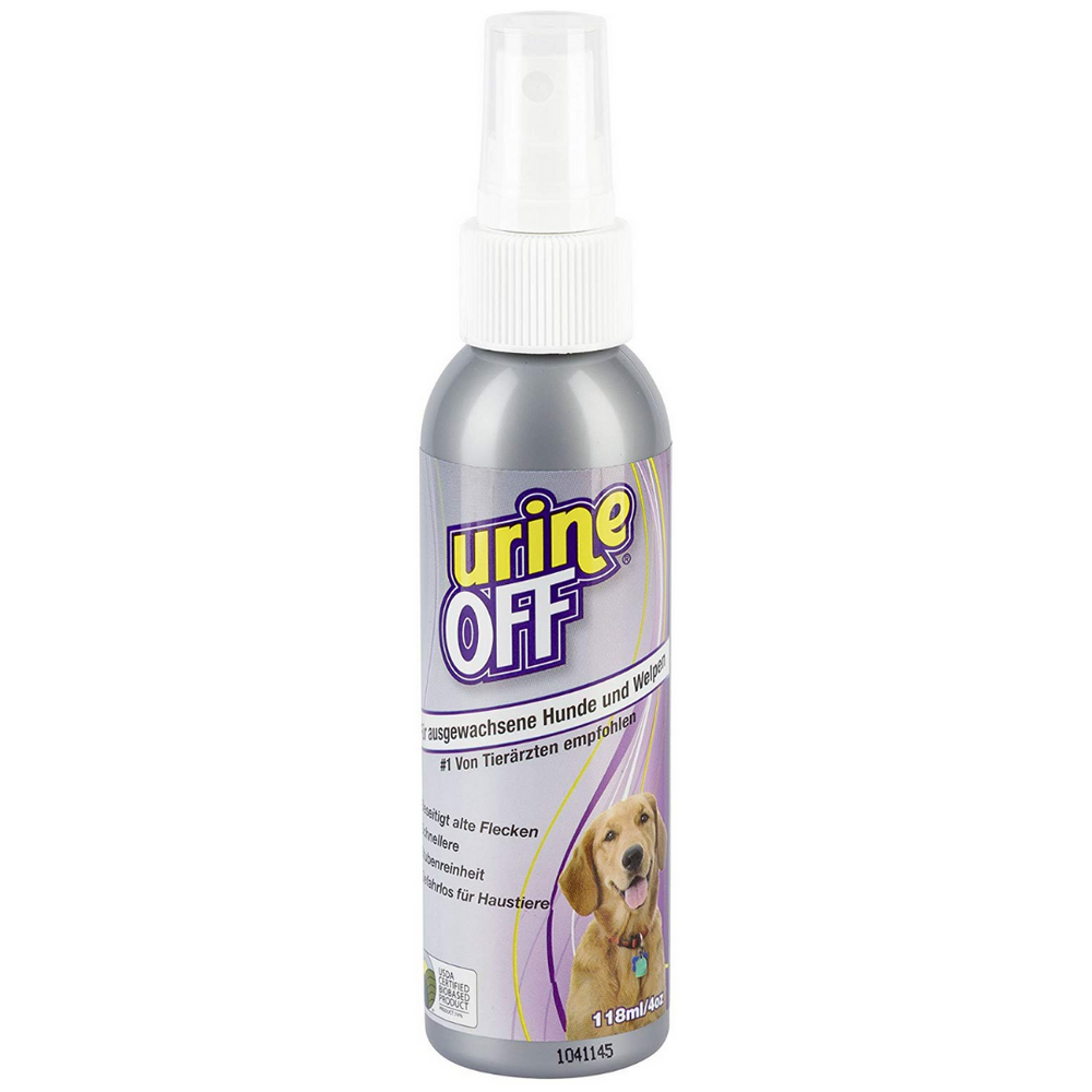 Urine OFF Puppy/Dog Odour & Stain Remover -118ml