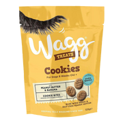 Wagg Peanut Butter Cookies with Banana
