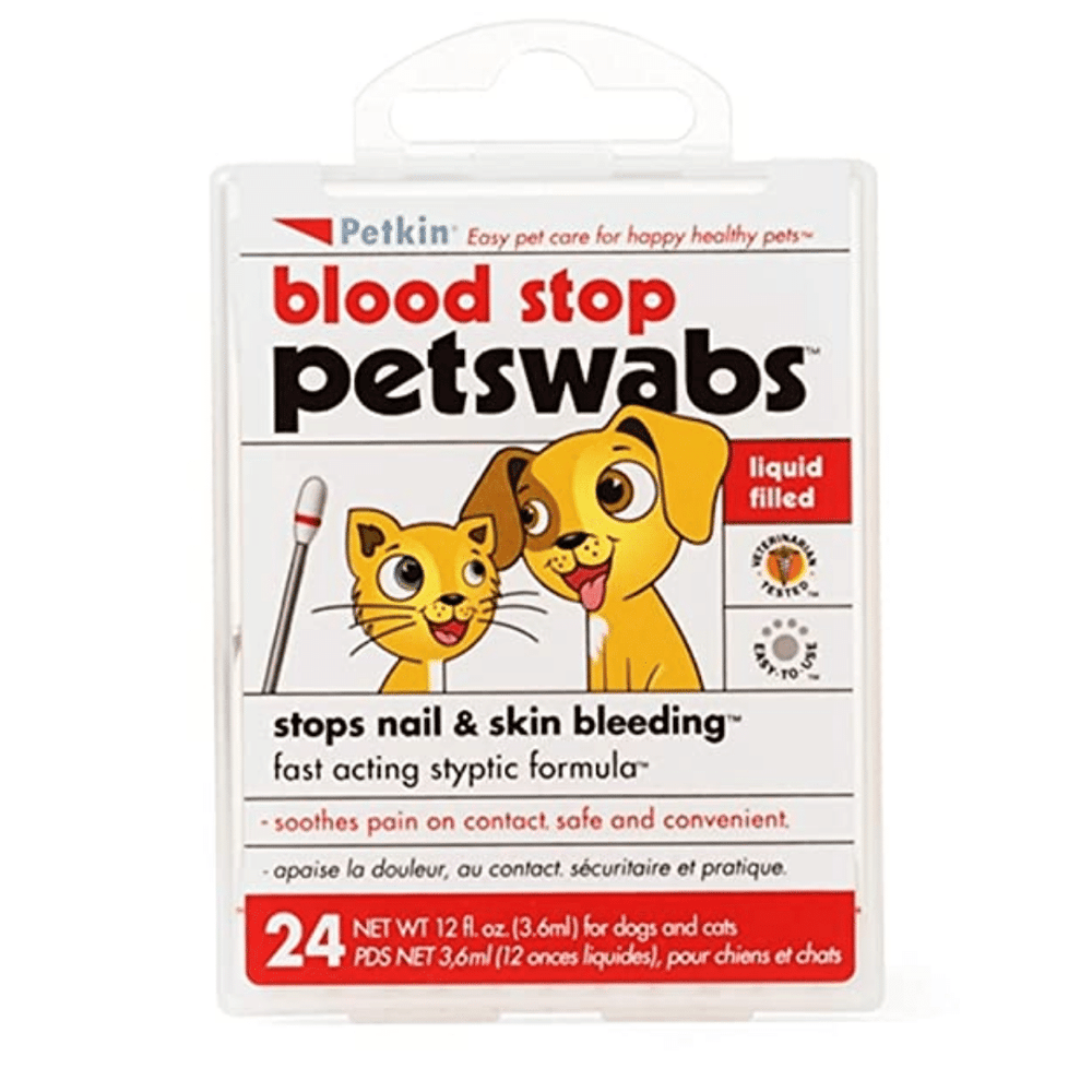Petkin Blood Stop Pet Swabs
