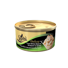 Sheba Wet Cat Food - Tuna & Snapper in Gravy Can - Pack of 12 (85g x 12 cans)