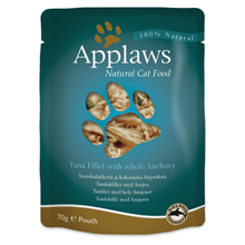 Applaws Cat Food - Tuna Fillet with Whole Anchovy 70 g (Pack of 12)