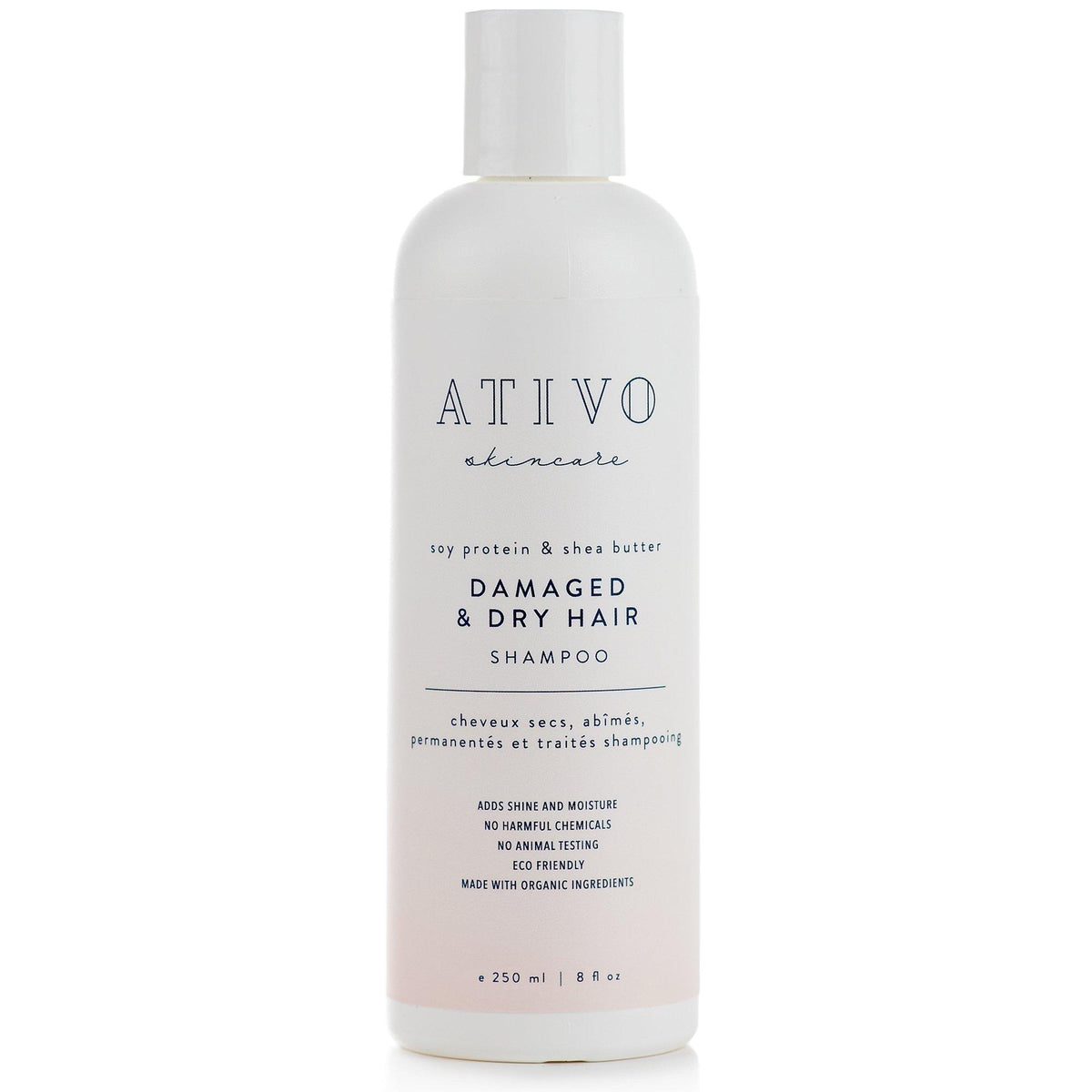 Damaged & Dry Hair Shampoo - Ativo Skincare