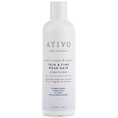 Thin & Fine Weak Hair Shampoo - Ativo Skincare