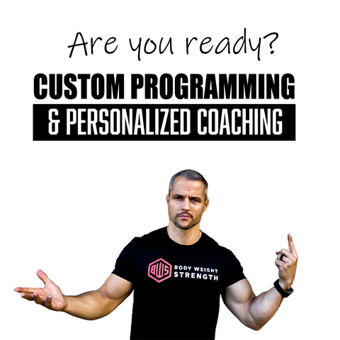 Programming & Coaching Package (8 or 16 weeks)
