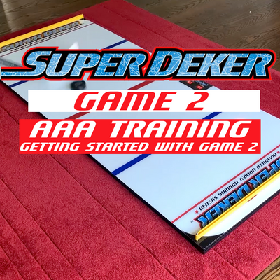 Getting Started with SuperDeker Game 2: AAA Hockey Training