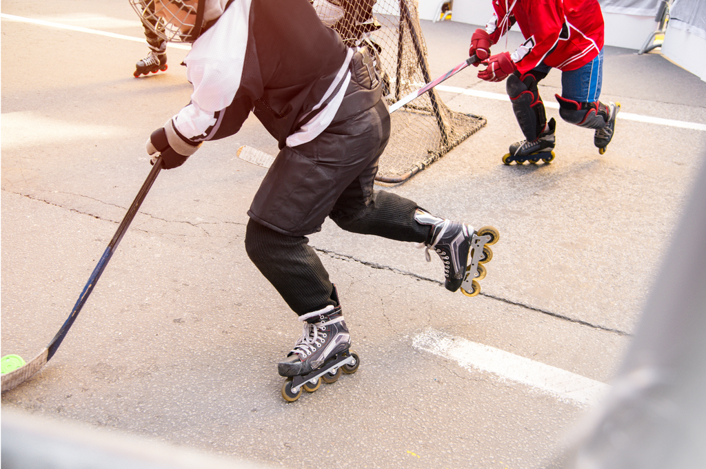 SuperDeker is the best at home hockey training device for players of all ages and skill levels.