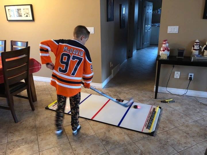 The hockey stickhandling game SuperDeker is the most advanced hockey training system available today!