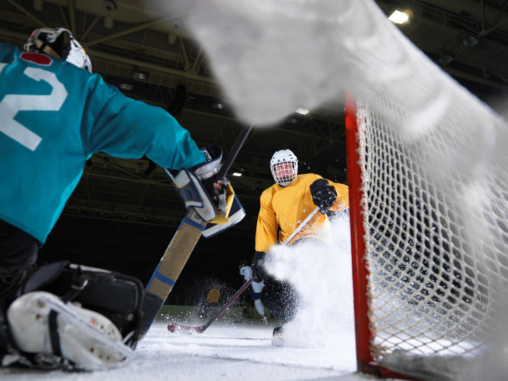 The SuperDeker is a great system to teach you how to practice hockey at home with no ice required!