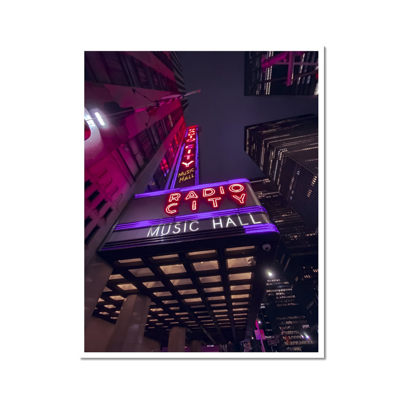 Radio City - Photo Print (Limited run of 10)