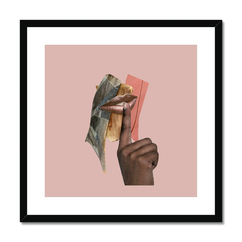 Lips FRAMED PRINT - (LIMITED RUN OF 45)