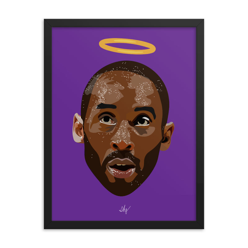 Halo Kobe Framed Print - 18 x 24 (LIMITED RUN OF 100)