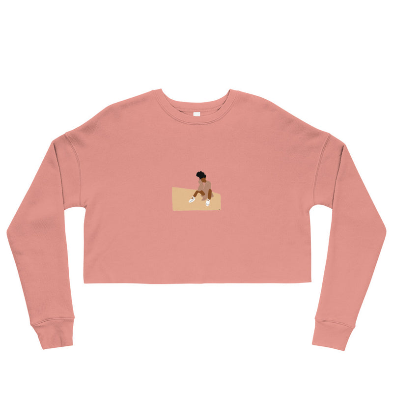 Contemplate - Crop Sweatshirt