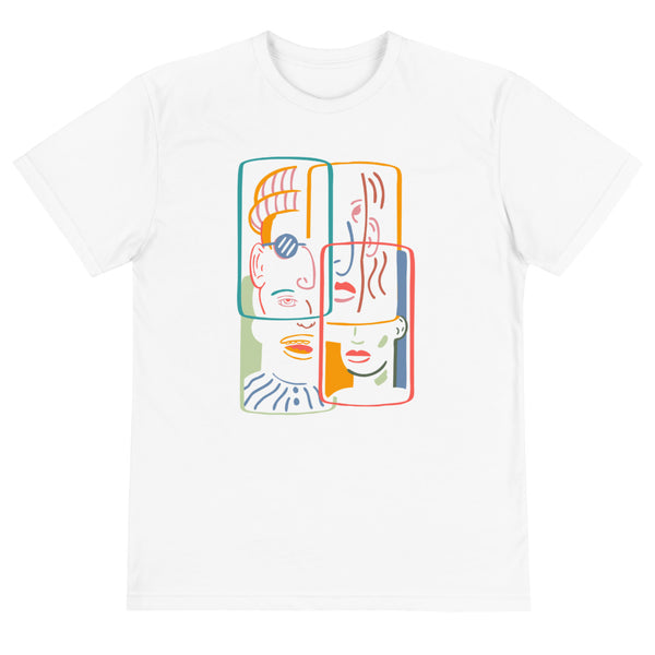 Faces and Places - Recycled T-Shirt