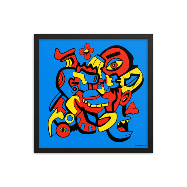 TRIBAL - 18 X 18 (LIMITED RUN OF 25)