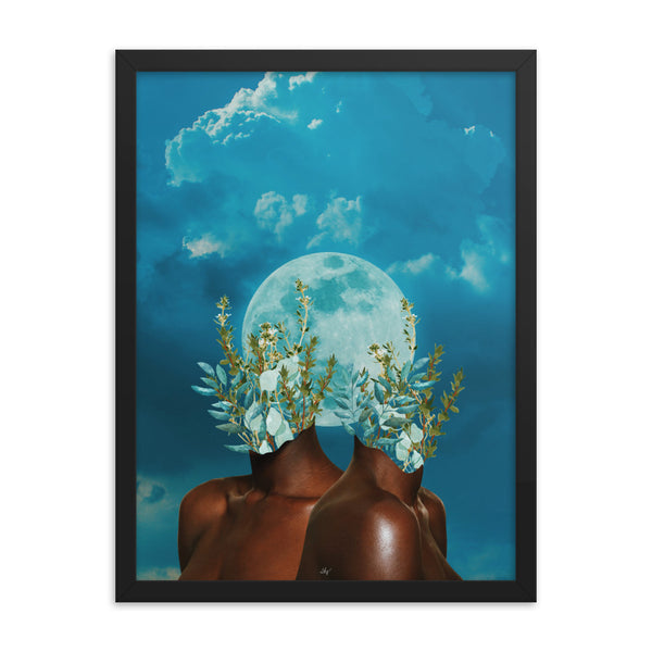 BROWN SKIN Framed Print - 18 X 24 (LIMITED RUN OF 20)