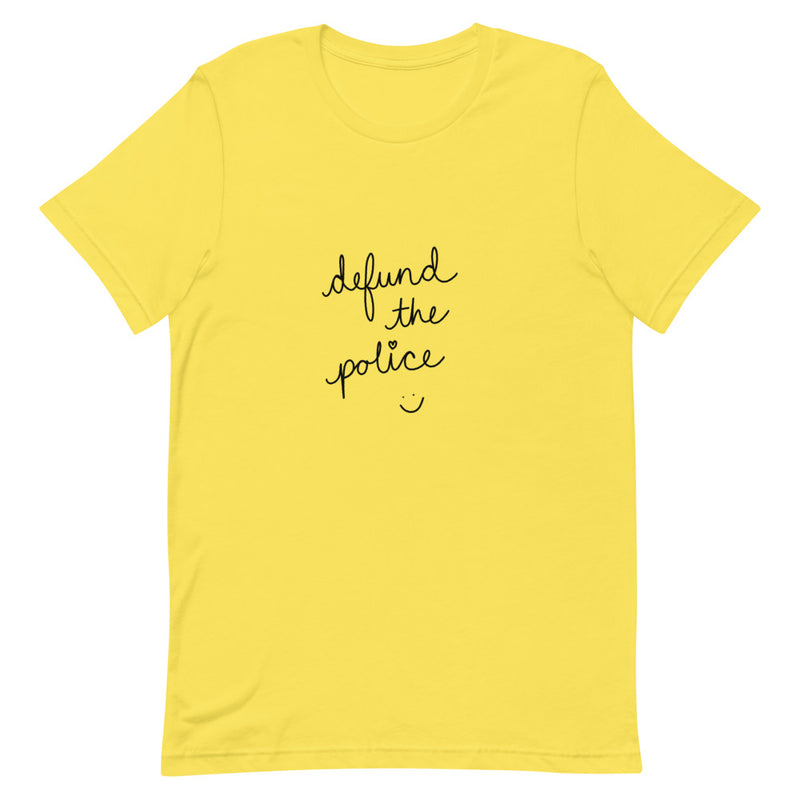 Defund The Police :) - Short-Sleeve Unisex T-Shirt