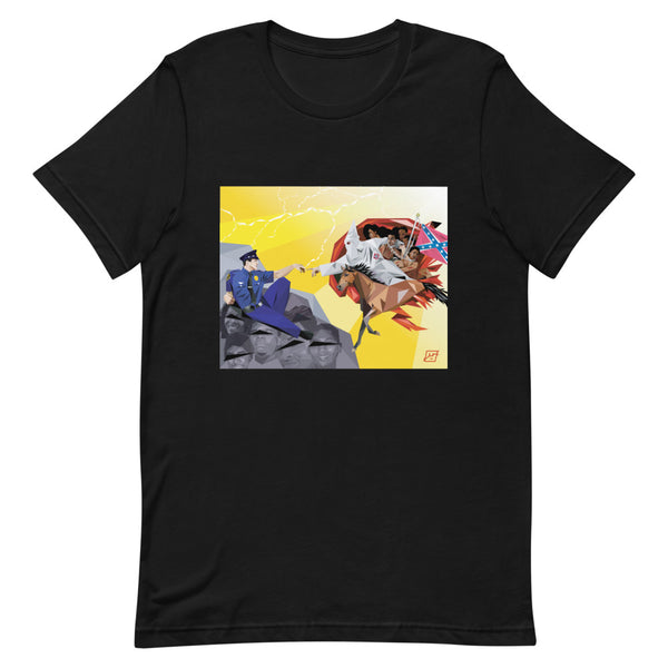 Creation of Racist Cops - Short-Sleeve Unisex T-Shirt