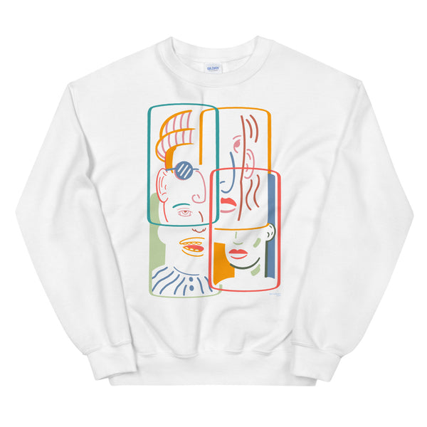faces and places - Unisex Crew Neck