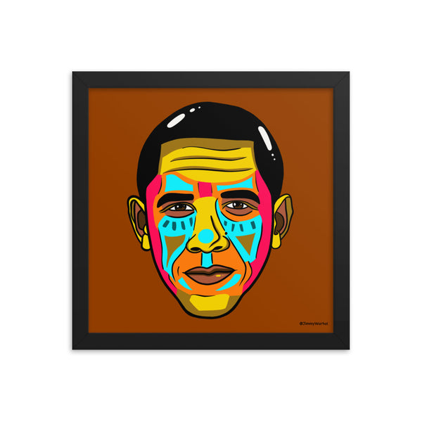 Obama - 12 X 12 (LIMITED RUN OF 25)