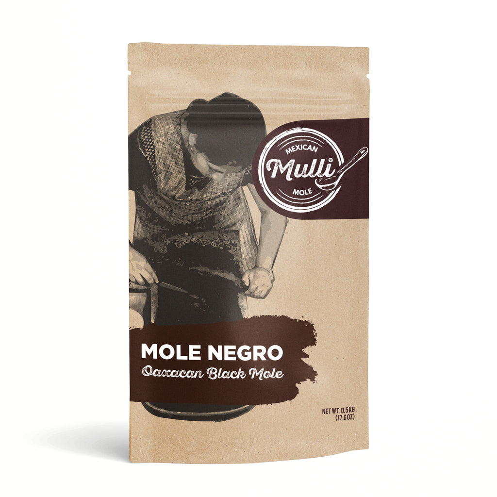 Mole Negro Imported From Oaxaca-Black Mole Paste by Mulli Mole