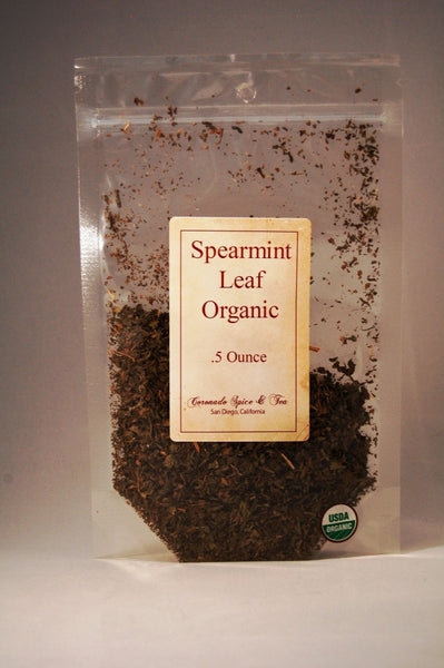 Spearmint Leaf Organic