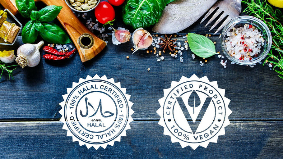Vegan Plus Halal Certified = Olive Route
