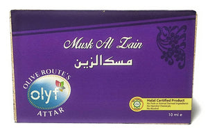 Olyf Musk Al Zain Attar, (Buy 1 Get 1 Free) - Olyf By Olive Route | Buy Natural, Vegan, Traditional Indian Products