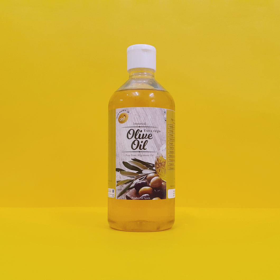 Olyf Extra Virgin Olive Oil, 500ml - Olyf By Olive Route | Buy Natural, Vegan, Traditional Indian Products