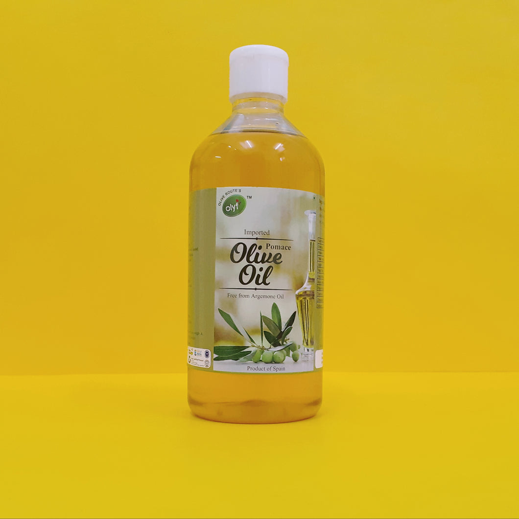 Olyf Pomace Olive Oil, 500ml - Olyf By Olive Route | Buy Natural, Vegan, Traditional Indian Products