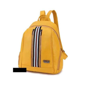 Olyf Back Pack Dual Color - Yellow - Olyf By Olive Route | Buy Natural, Vegan, Traditional Indian Products