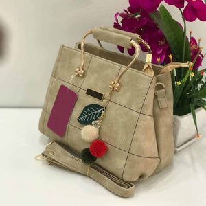 Olyf Charm Beige Bag - Olyf By Olive Route | Buy Natural, Vegan, Traditional Indian Products