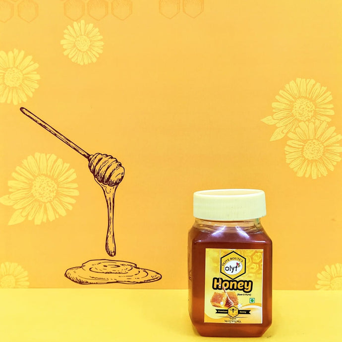 Olyf Natural Raw Honey, 200gm - Olyf By Olive Route | Buy Natural, Vegan, Traditional Indian Products