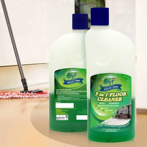 Olyf 3in1 Floor Cleaner, 500ml - Olyf By Olive Route | Buy Natural, Vegan, Traditional Indian Products