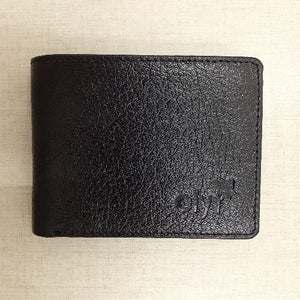 Olyf Wallet - Style Western  - Black - Olyf By Olive Route | Buy Natural, Vegan, Traditional Indian Products