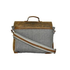 Olyf Multicolour Messenger Bag Pullup Leather Canvas - Olyf By Olive Route | Buy Natural, Vegan, Traditional Indian Products