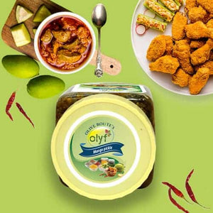 Olyf Mango Pickle, 250gms - Olyf By Olive Route | Buy Natural, Vegan, Traditional Indian Products