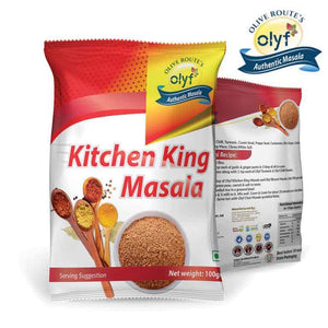 Olyf Kitchen King Masala, 100gms - Olyf By Olive Route | Buy Natural, Vegan, Traditional Indian Products