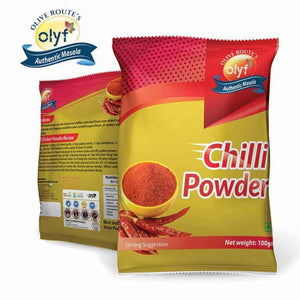 Olyf Lal Mirch Powder, 100gms - Olyf By Olive Route | Buy Natural, Vegan, Traditional Indian Products