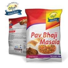 Load image into Gallery viewer, Olyf Spices Combo - Chat, Chole and Pav Bhaji, Pack of 3 (100gms each) - Olyf By Olive Route | Buy Natural, Vegan, Traditional Indian Products