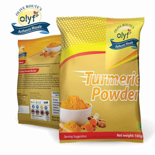 Olyf Haldi Powder, 100gms - Olyf By Olive Route | Buy Natural, Vegan, Traditional Indian Products
