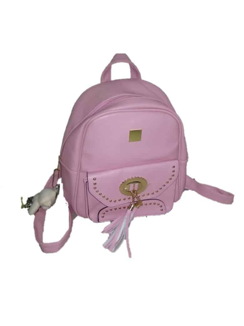 Olyf Girly Pink Kids Backpack - Olyf By Olive Route | Buy Natural, Vegan, Traditional Indian Products