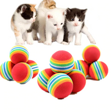 Load image into Gallery viewer, Rainbow Ball Cat Toy - Brands for Trends