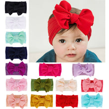 Load image into Gallery viewer, Baby Accessories Infant Baby Girl Cute Soft Bow Headband Newborn. - Brands for Trends