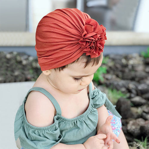Baby Hat Spring Summer Cotton Soft Baby Turban - Brands for Trends